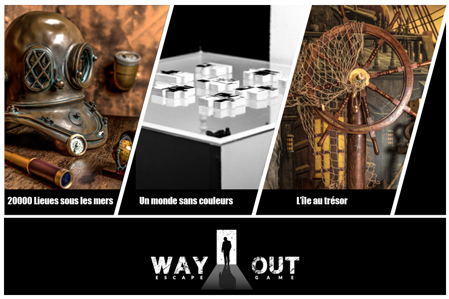 Cover de l'offre chez Way Out! Escape Game Lyon